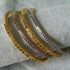 Set of 4 bangles 3 inches